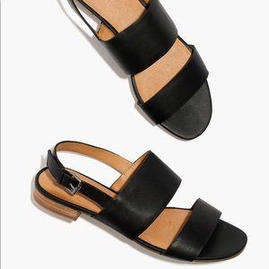 Madewell Elena Slingback Sandal in Black Size 8.5